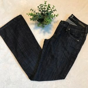 7 for all mankind bootcut organic denim jeans S25